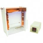 Sistem electroforeza cu gradient de denaturare